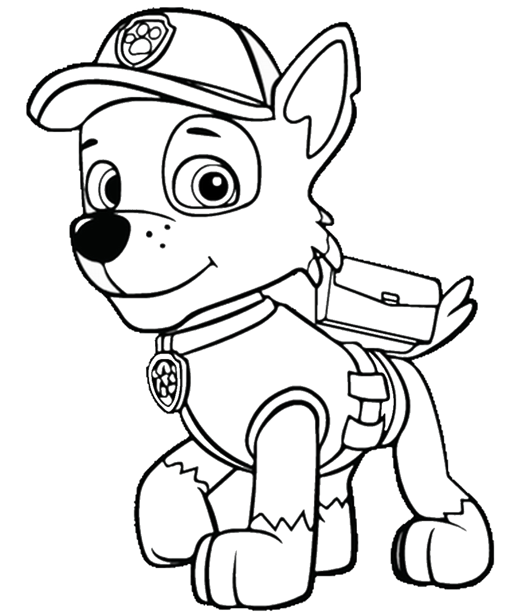 Paw Patrol Coloring Pages Printable 14a - Free For kids