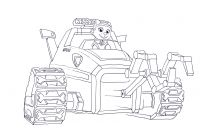 Paw Patrol Coloring Pages - Everest Paw Patrol Coloring Page Nazly