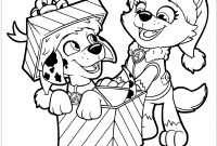 Paw Patrol Coloring Pages - Paw Patrol Christmas Coloring Pages – Color Bros