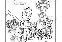 Paw Patrol Coloring Pages - Paw Patrol Coloring Pages Coloring Home