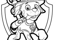 Paw Patrol Coloring Pages - Paw Patrol Coloring Sheets
