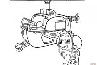 Paw Patrol Coloring Pages - Paw Patrol Sky Coloring Page Btte