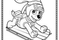 Paw Patrol Coloring Pages - Paw Patrol Winter Rescues Plus A Paw Patrol Coloring Page