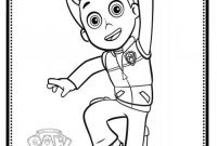 Paw Patrol Coloring Pages - Ryder Paw Patrol Coloring Pages to Print Drawings