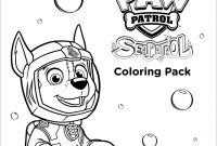 Paw Patrol Coloring Pages - Sea Paw Patrol Coloring Page Paw Patrol Coloring Pages