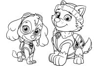 Paw Patrol Coloring Pages - Sky Everest Patrol Free Coloring Page E280a2 Animals Kids Paw