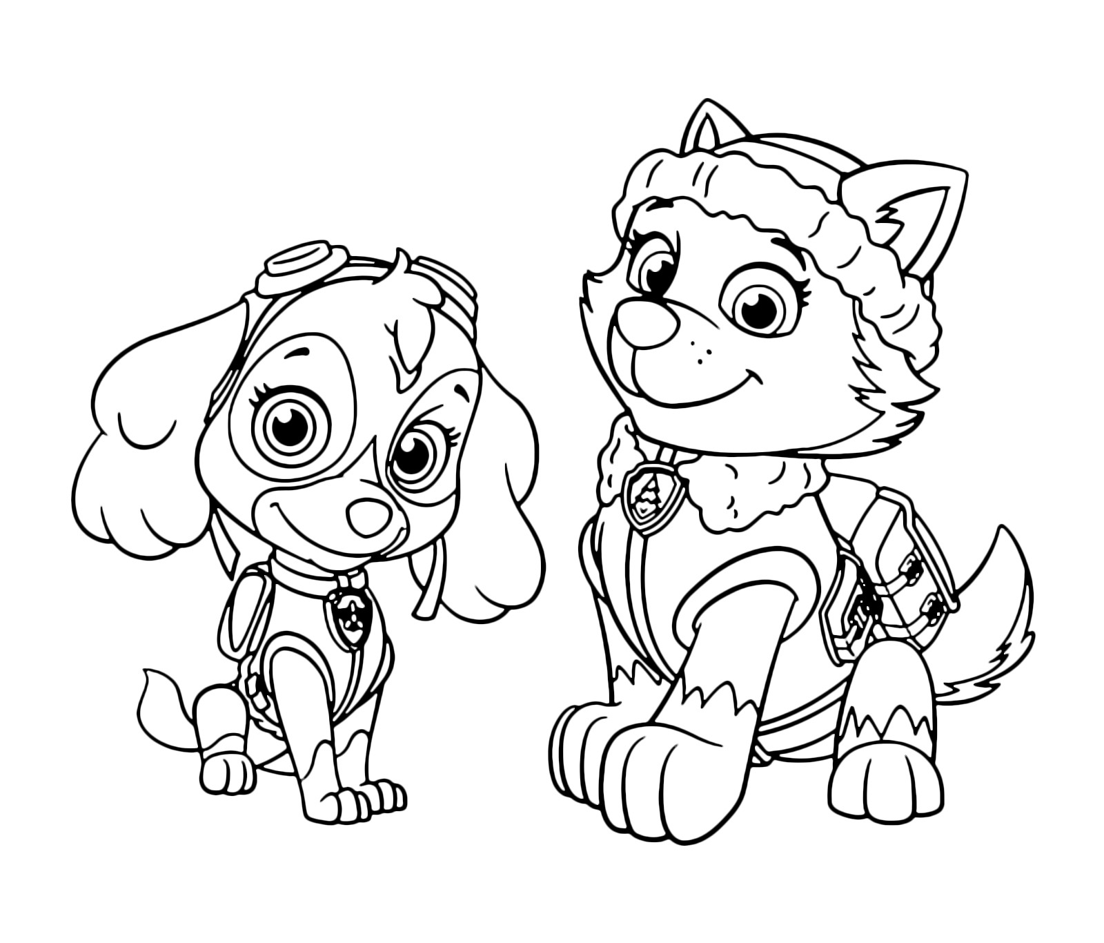 Paw Patrol Coloring Pages Printable | Free Coloring Sheets