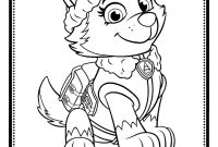 Paw Patrol Coloring Pages - Zuma Paw Patrol Coloring Page Best Print Paw Patrol Everest