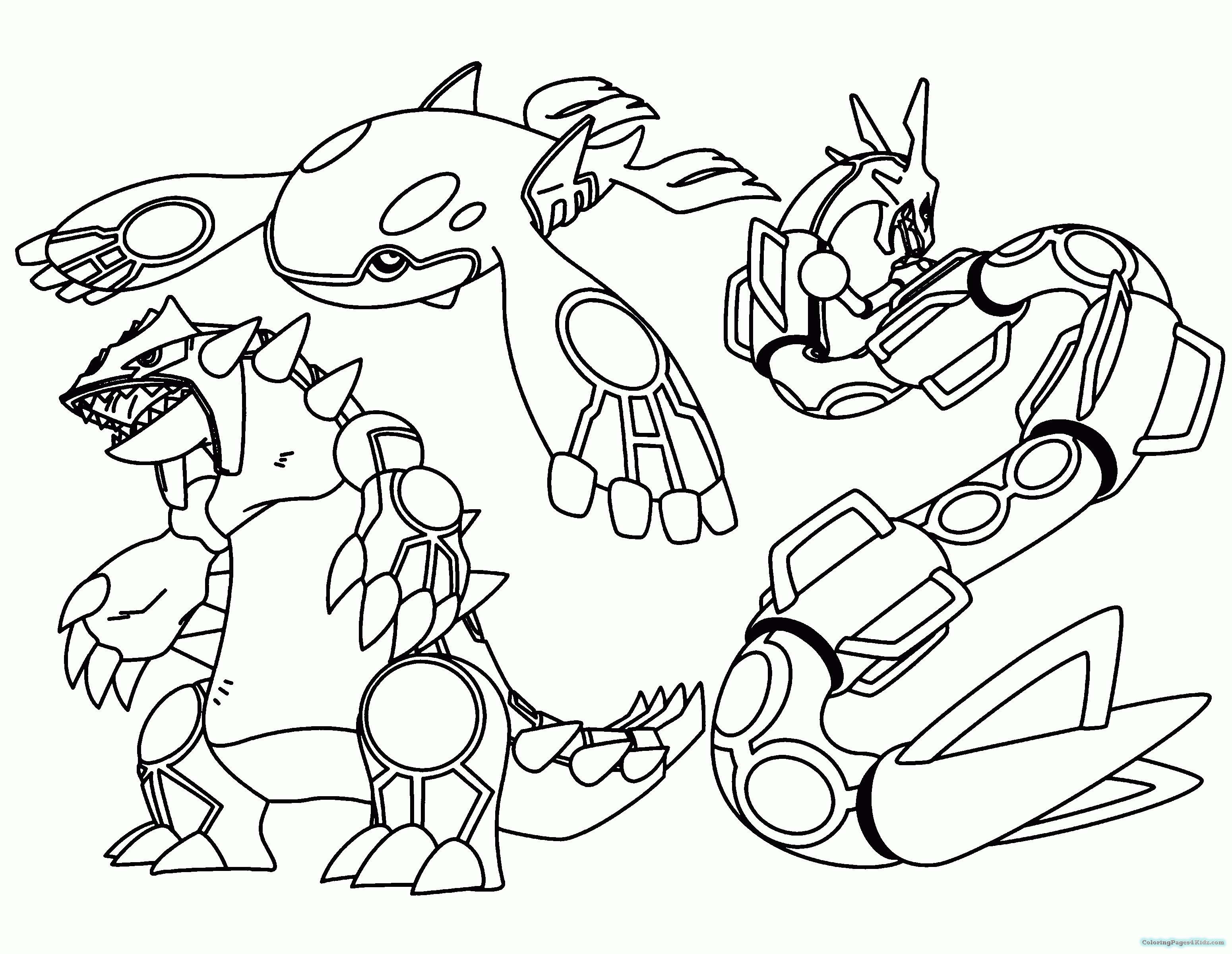 Pokemon Coloring Pages to Print   Free Coloring Sheets