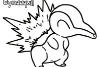 Pokemon Coloring Pages - Elegant Pokemon Coloring Pages Cyndaquil