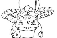 Pokemon Coloring Pages - Grass Pokemon Coloring Pages Type Inc Ubator