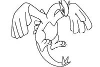 Pokemon Coloring Pages - Legendary Pokemon Coloring Pages Lugia Coloringstar