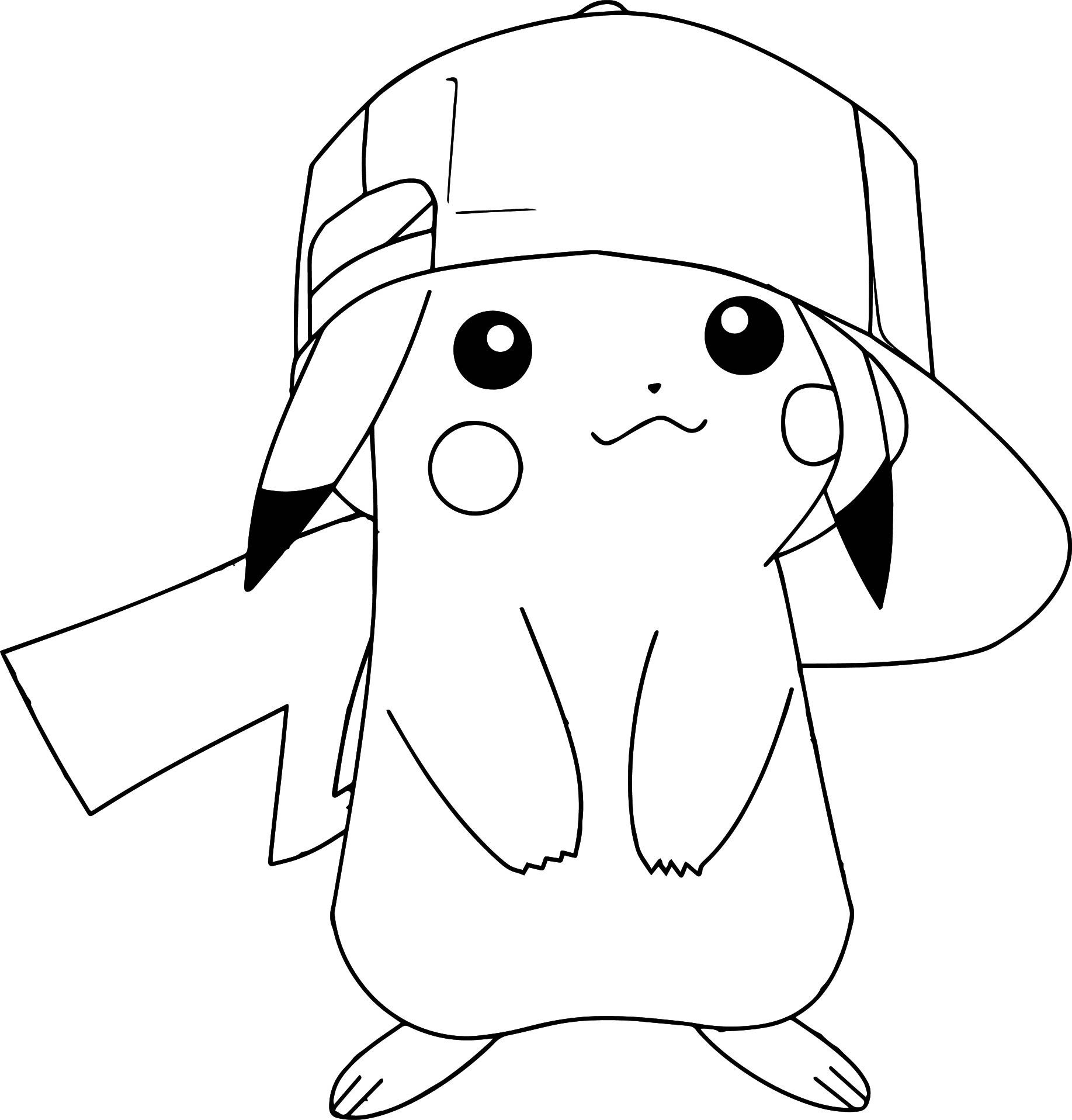 Pokemon Coloring Pages to Print 11t - Free For kids