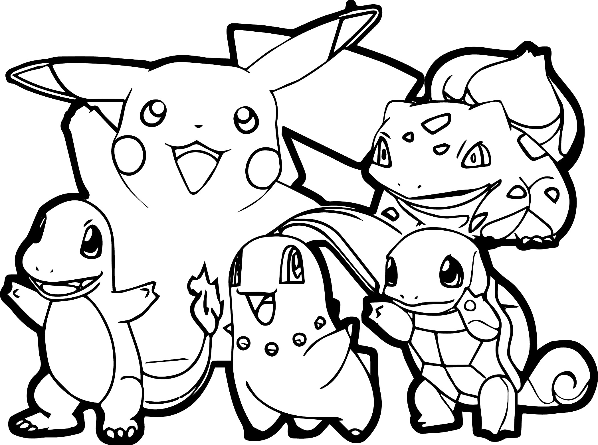 Pokemon Coloring Pages to Print 3m - To print for your project