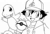 Pokemon Coloring Pages - Pokemon – ash Coloring Page 01