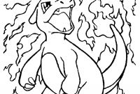 Pokemon Coloring Pages - Pokemon – Charmeleon Coloring Page 01