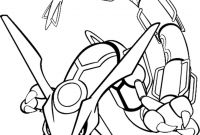 Pokemon Coloring Pages - Pokemon Coloring Pages for Kids Pokemon Rayquaza Colouring Pages