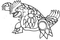 Pokemon Coloring Pages - Pokemon Coloring Pages Groudon Legendary Coloringstar Nazly
