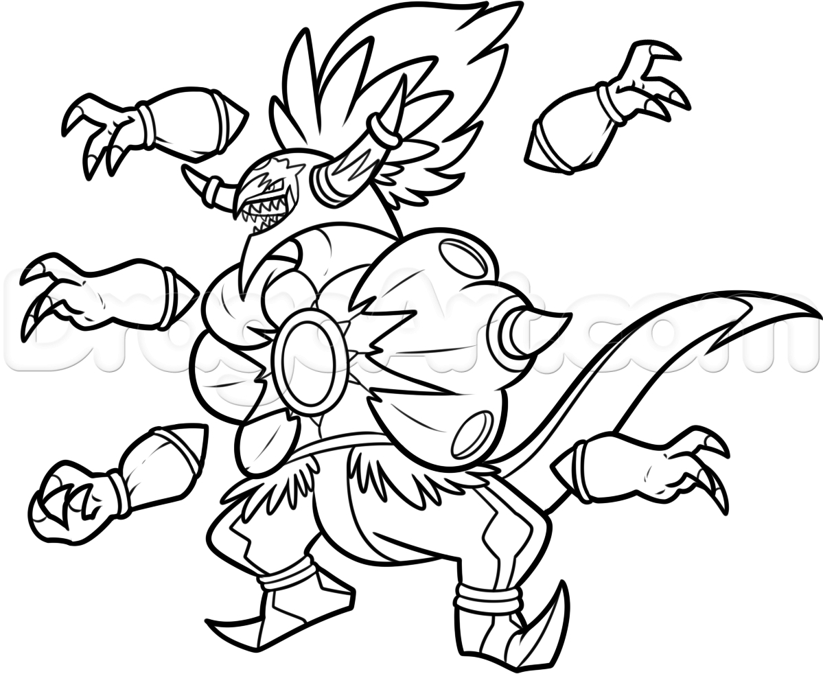 Pokemon Coloring Pages to Print 4i - Free For Children
