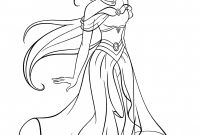 Princess Coloring Pages - Disney Princess Coloring Pages Jasmine and Aladdin 6