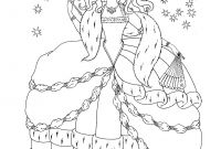 Princess Coloring Pages - Free Printable Disney Princess Coloring Pages for Kids