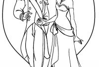 Princess Coloring Pages - Prince and Princess Coloring Pages