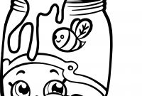 Shopkins Coloring Pages - Honeeey Shopkins Free Coloring Page • Kids Shopkins Coloring Pages