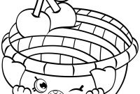 Shopkins Coloring Pages - Shopkins Coloring Pages