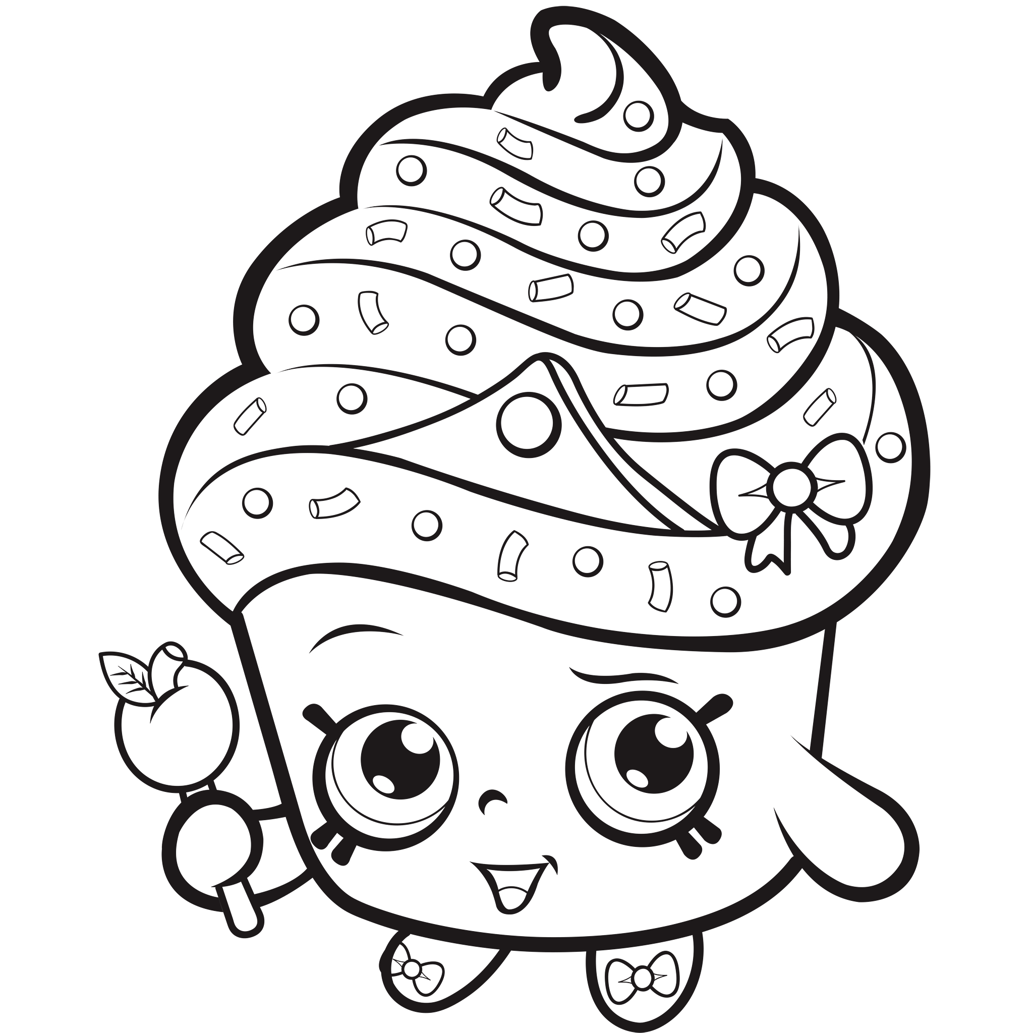 Shopkins Coloring Pages Printable 20r - Free For kids