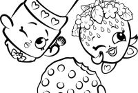 Shopkins Coloring Pages - Shopkins Coloring Pages Cartoon Coloring Pages