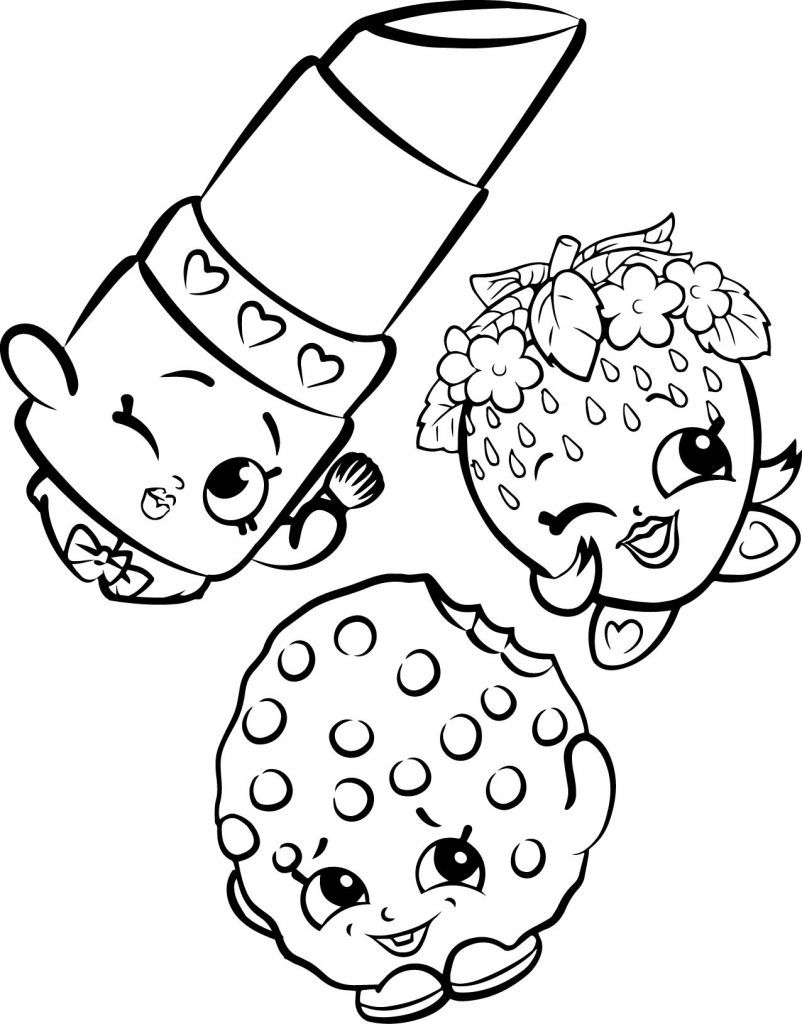 Shopkins Coloring Pages Printable 10f - Save it to your computer