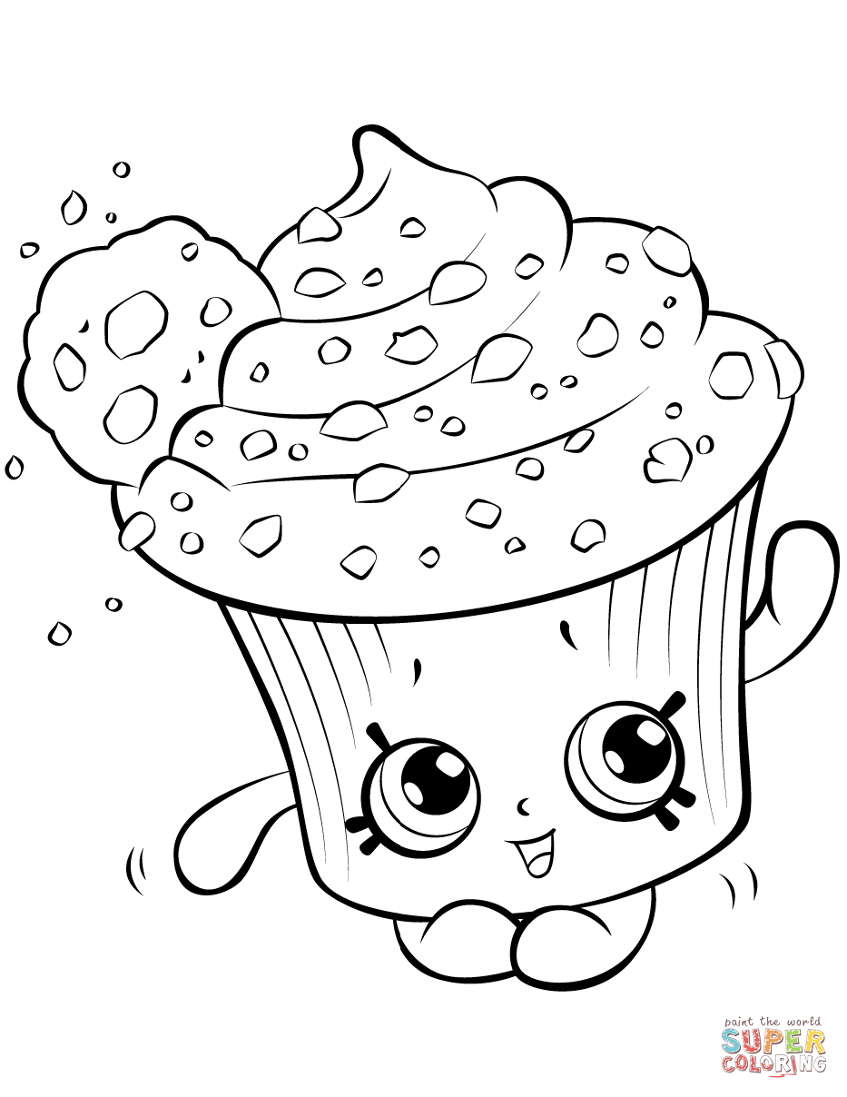Shopkins Coloring Pages Printable 12j - Save it to your computer