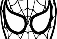 Spiderman Coloring Pages - Awesome Spider Man Mask Face Coloring Page Wecoloringpage for Color