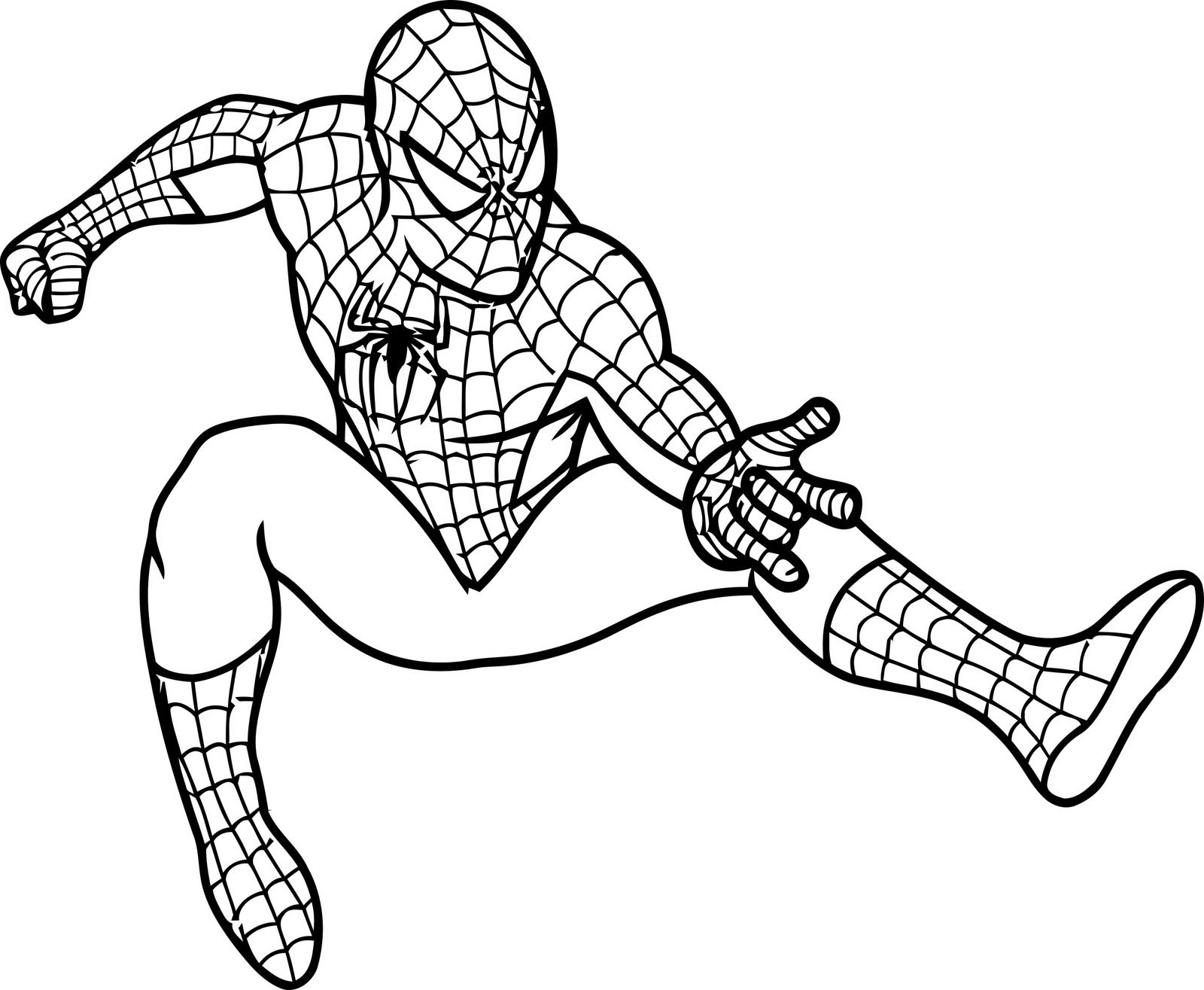 Spiderman Coloring Pages Download 19g - Free For Children