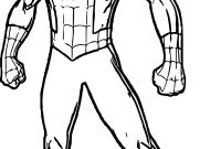 Spiderman Coloring Pages - Insider Spider Man Coloring Pages Spiderman Outline Drawing at