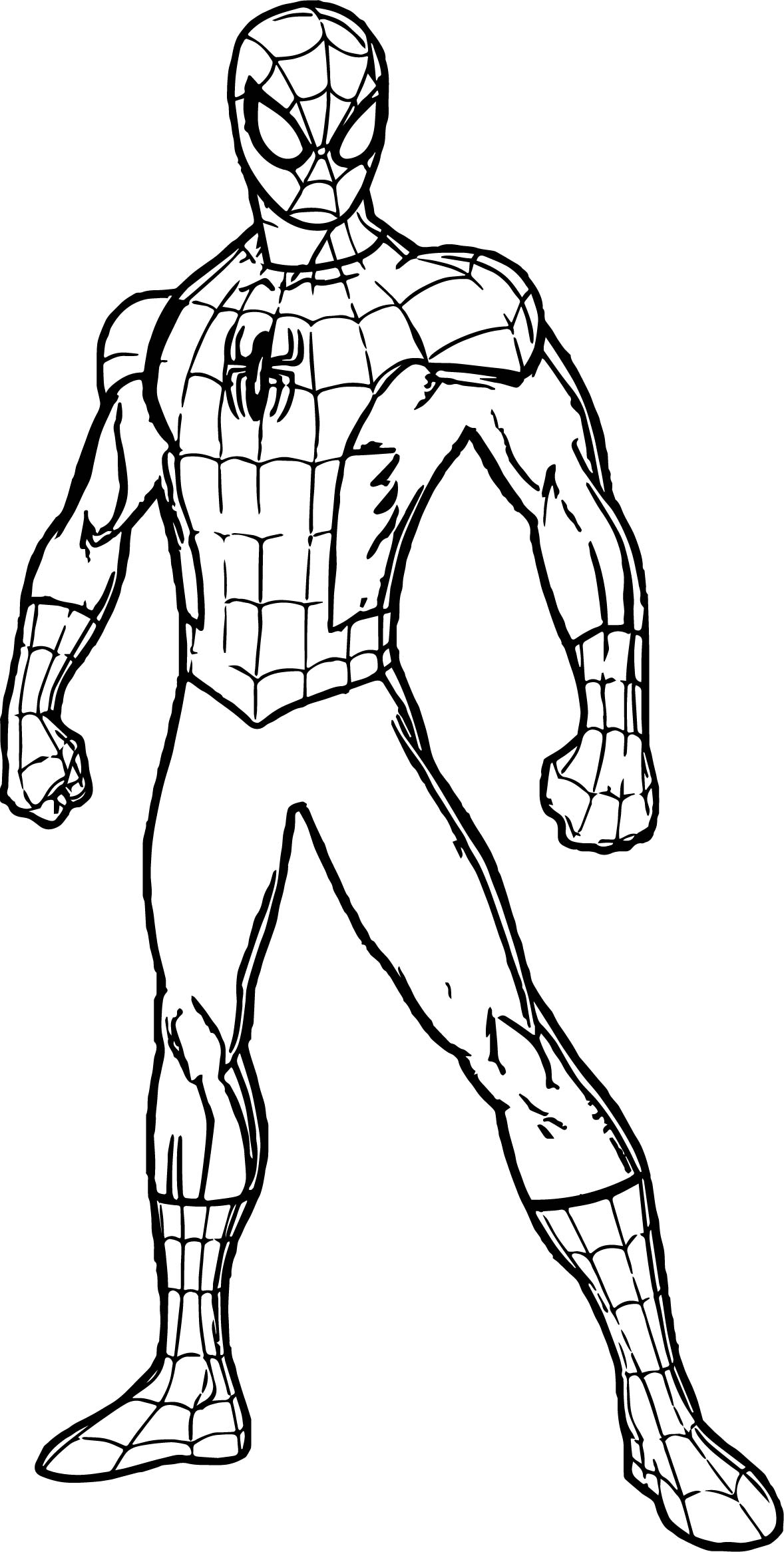 Spiderman Coloring Pages Download 16s - Free For kids
