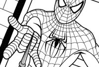 Spiderman Coloring Pages - Simplified Spiderman Color Sheets It S Here Sheet Coloring Pages