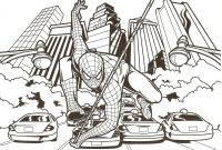Spiderman Coloring Pages - Spider Man Coloring Page