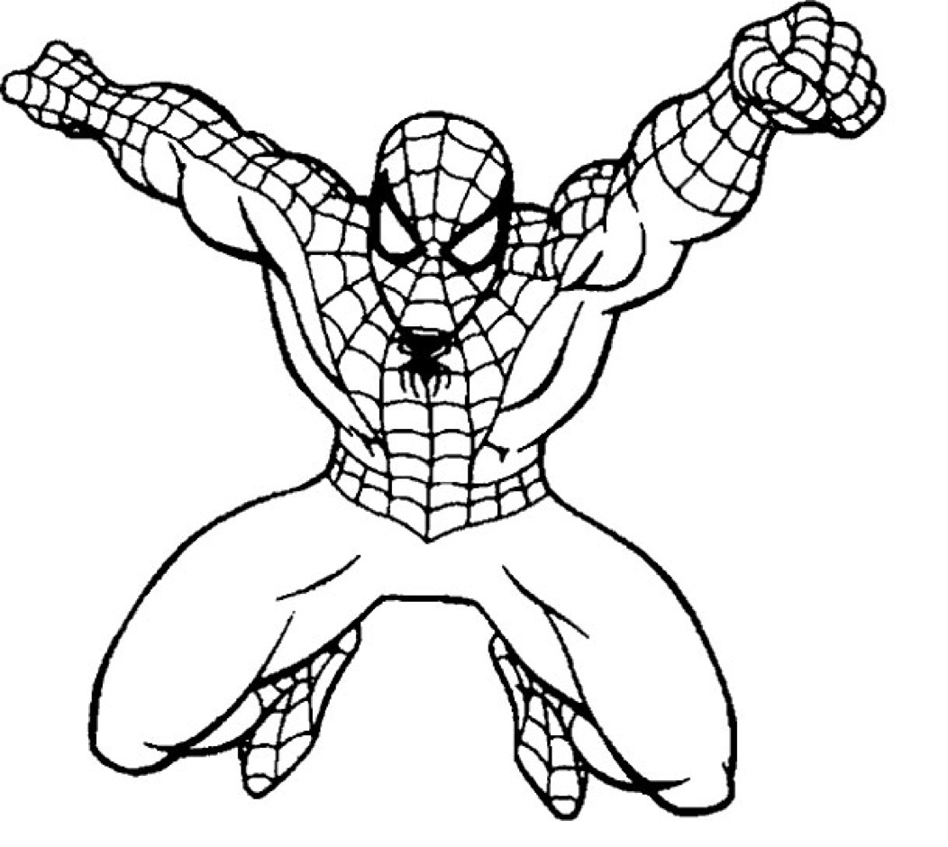 Spiderman Coloring Pages Download 4l - Free For kids