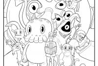 A to Z Coloring Pages - Free C is for Cthulhu Coloring Sheet Cool Thulhu