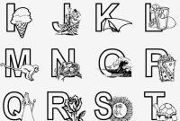 A to Z Coloring Pages - Printable Coloring Pages Alphabet Coloring Pages Az