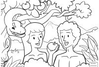 Adam and Eve Coloring Pages for Preschool - Adam and Eve Printable Coloring Pages Coloring Pages Coloring Pages