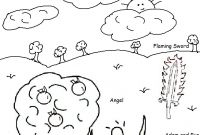 Adam and Eve Coloring Pages for Preschool - Part 72 Coloring Page Printable Cute