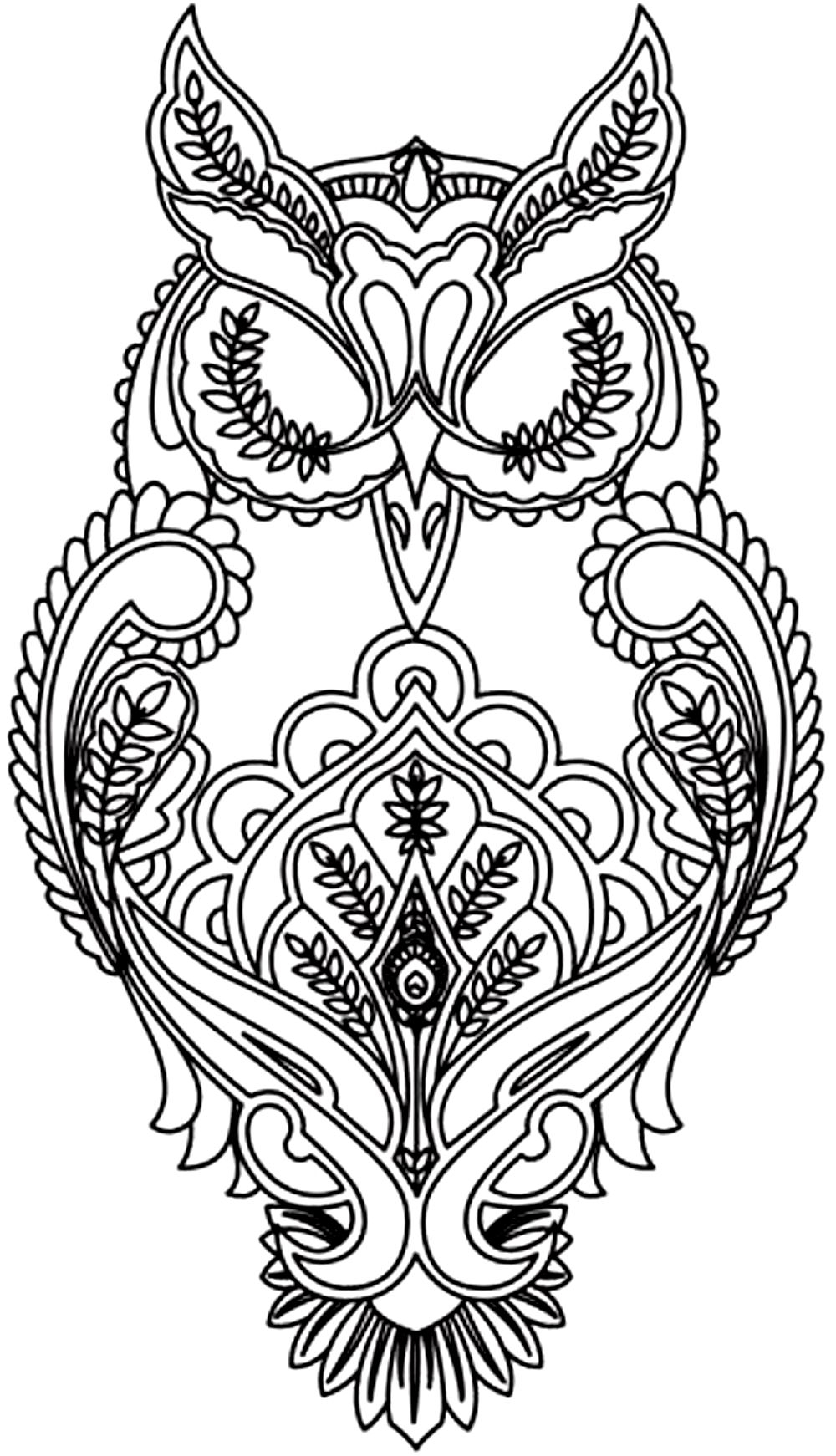 Advanced Animal Coloring Pages  Printable 15k - To print for your project