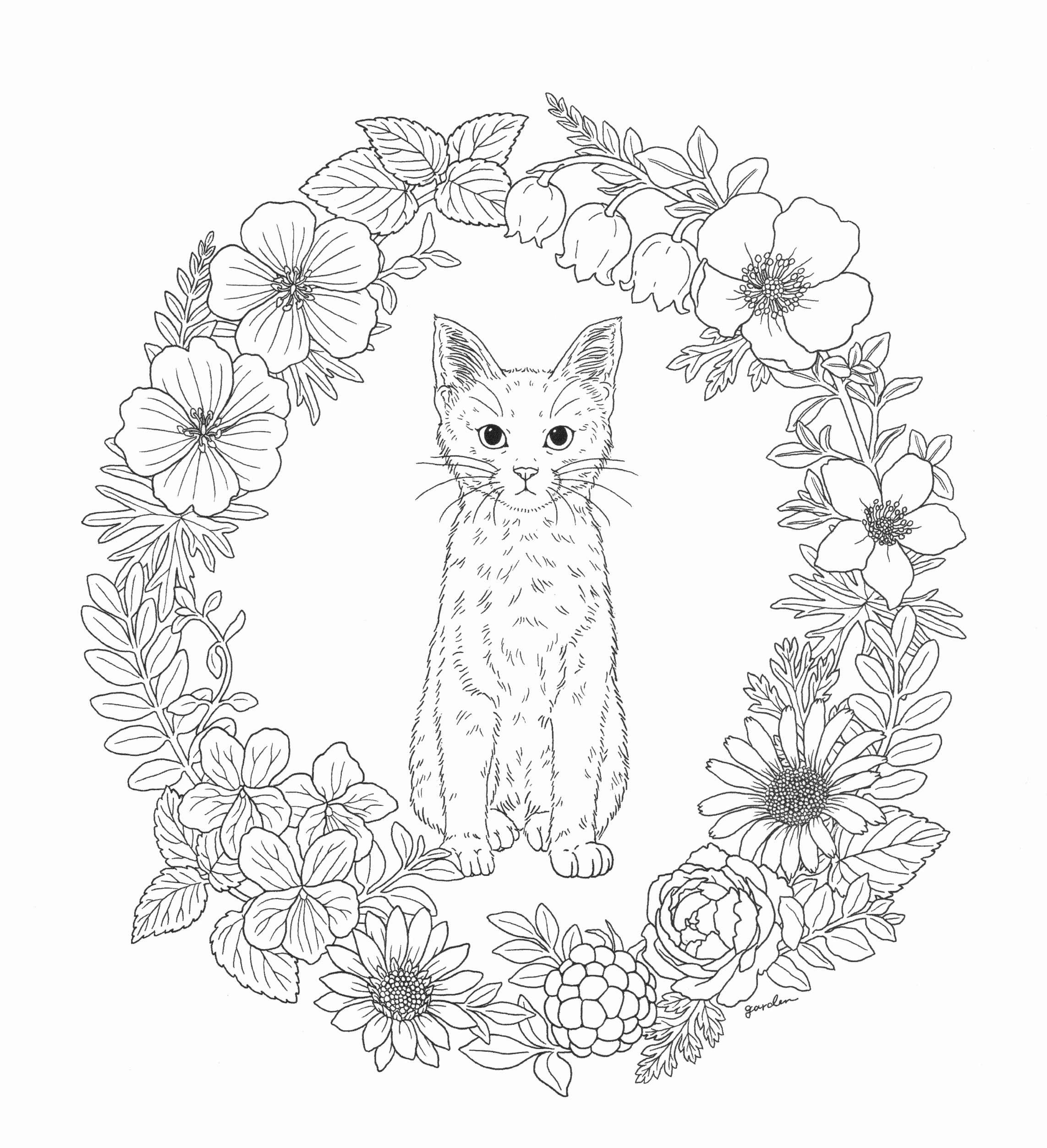 Advanced Animal Coloring Pages Printable | Free Coloring ...