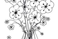 Advanced Coloring Pages Flowers - Advanced Coloring Pages Flowers