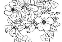Advanced Coloring Pages Flowers - Coloring Book Flowers Free Collection