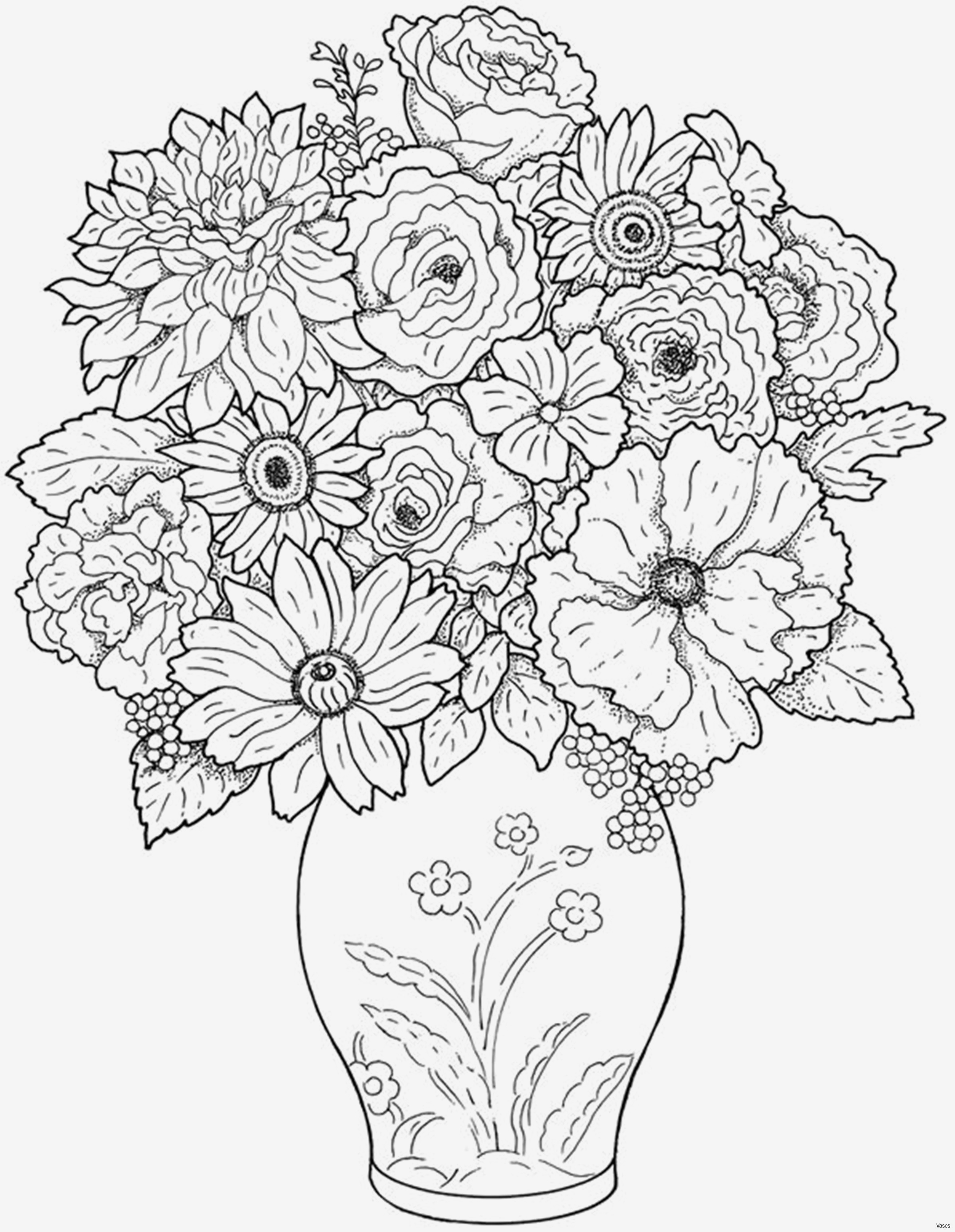 Advanced Coloring Pages Flowers  Collection 18e - Save it to your computer