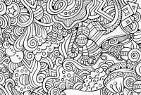 Advanced Coloring Pages Flowers - Ruva Coloring Page Simple Abstract