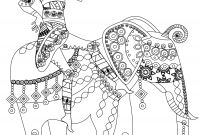 Africa Coloring Pages - Indian Elephant Coloring Pages Printable Indian Elephant Coloring